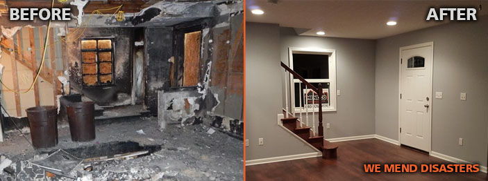 Mendco Construction Company - Before & After
